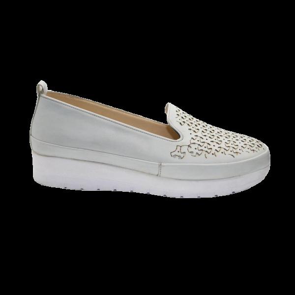 کفش زنانه سفید طبی کفش والا